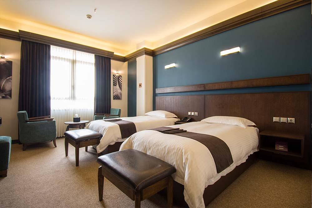gotelisho towin 02 - انواع اتاق و سوئیت در هتل