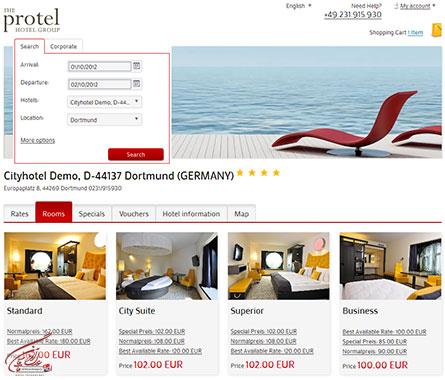 hotelisho adl 15 - نرم افزار هتلداری پروتل Protel